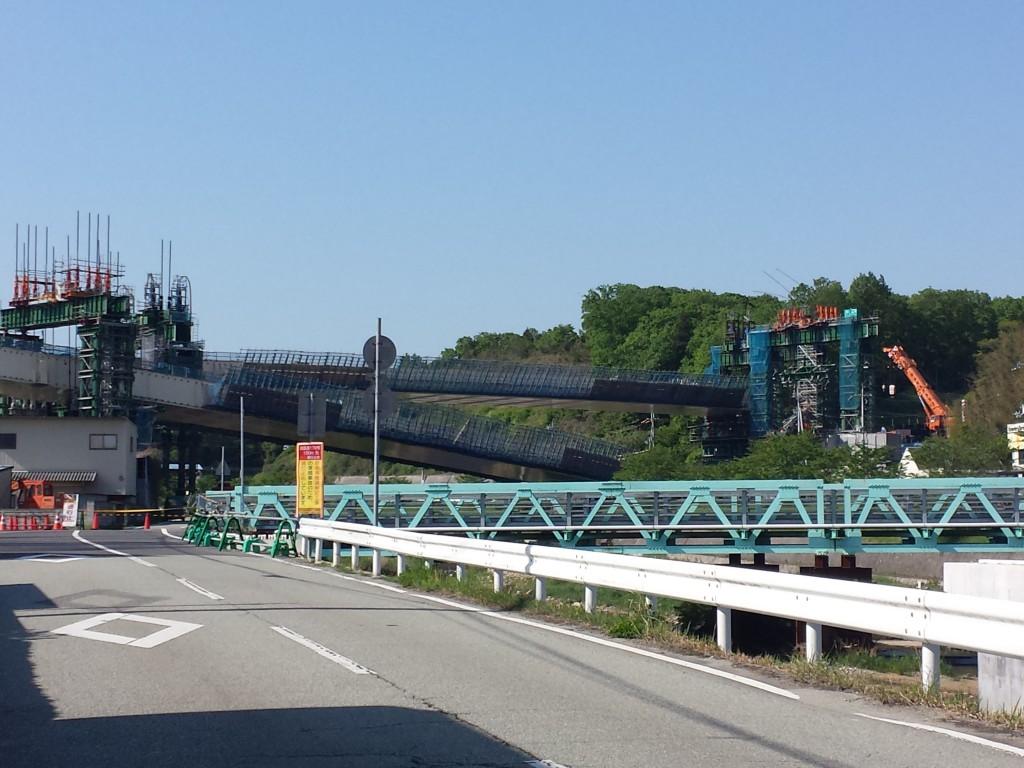 新名神高速道路橋桁落下事故現場に行ってみた!