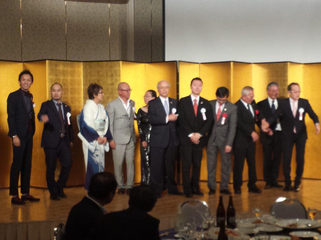 日本ベトナム親善協会設立記念式典に行ってきました。